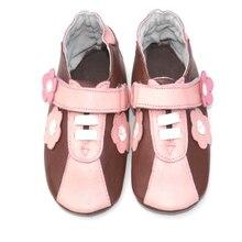 Новые модели Детская спортивная обувь из натуральной кожи; спортивные кеды для малышей для девочек девушки, для тех, кто только начинает ходить, и детская обувь
