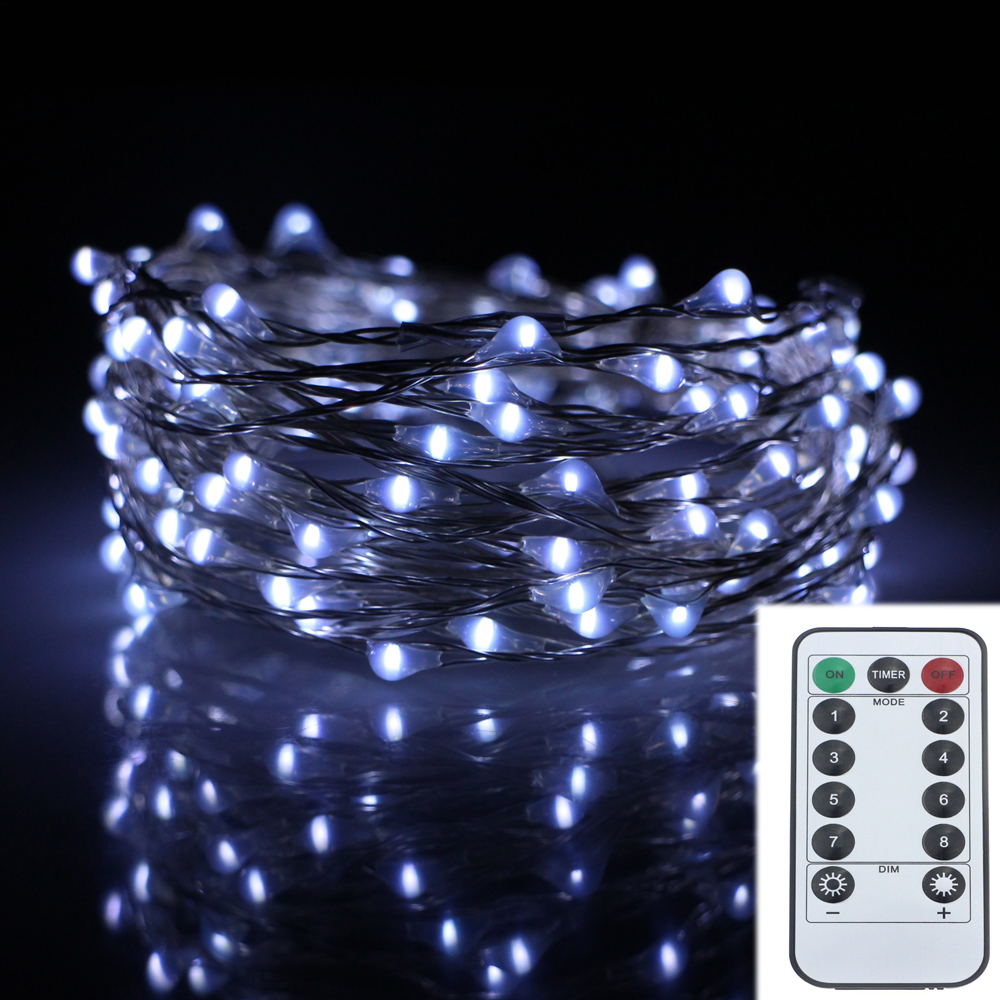 6m 120led 8modes silver wire 6aa battery operated chrismas string 6m 120led 8modes silver wire 6aa battery operated chrismas string lights outdoor led fairy lights decoration wedding garland aloadofball Gallery