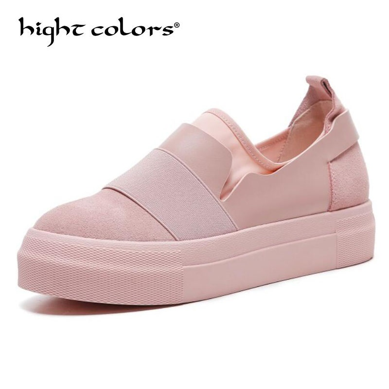 High Quality Women Leather Loafers Casual Flats Shoes Woman Slip On Female Shoes Thick Bottom Moccasins Slipony Zapatos Mujer 43 cresfimix zapatos women cute flat shoes lady spring and summer pu leather flats female casual soft comfortable slip on shoes
