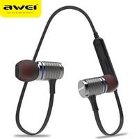 AWEI Newest T12 Wireless Headphone Bluetooth Earphone Earpiece For Phone Casque Kulakl K Cordless Bluetooth V4