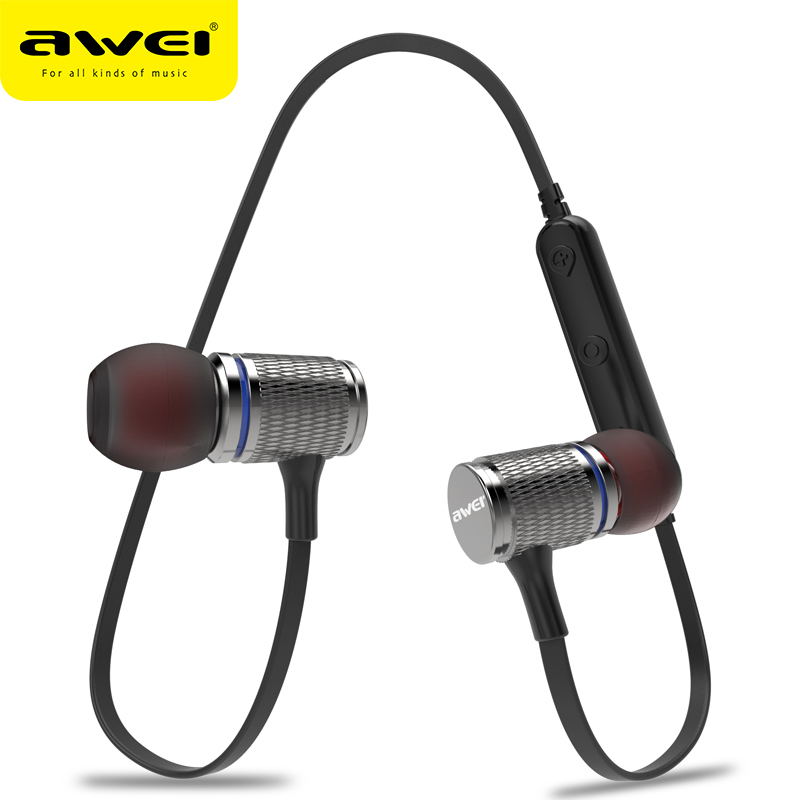 AWEI Newest T12 Wireless Headphone Bluetooth Earphone Earpiece For Phone Casque kulakl k Cordless Bluetooth V4.2 Fone de ouvido