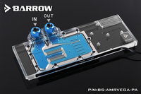 Barrow BS AMRVEGA PA GPU Water Cooling Block for AMD Radeon Vega FE Frontier