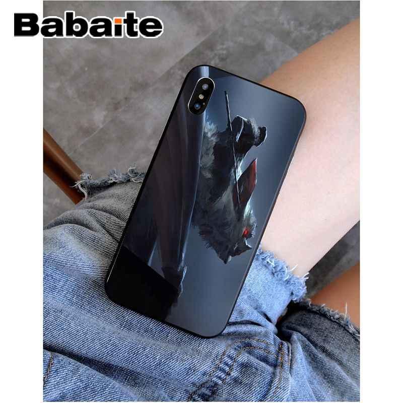 Babaite Halloween bat Sang Trọng Thiết Kế Độc Đáo Điện Thoại Bìa đối với Apple iPhone 8 7 6 6 S Cộng Với XS X MAX 5 5 S SE XR Vỏ Điện Thoại Di Động