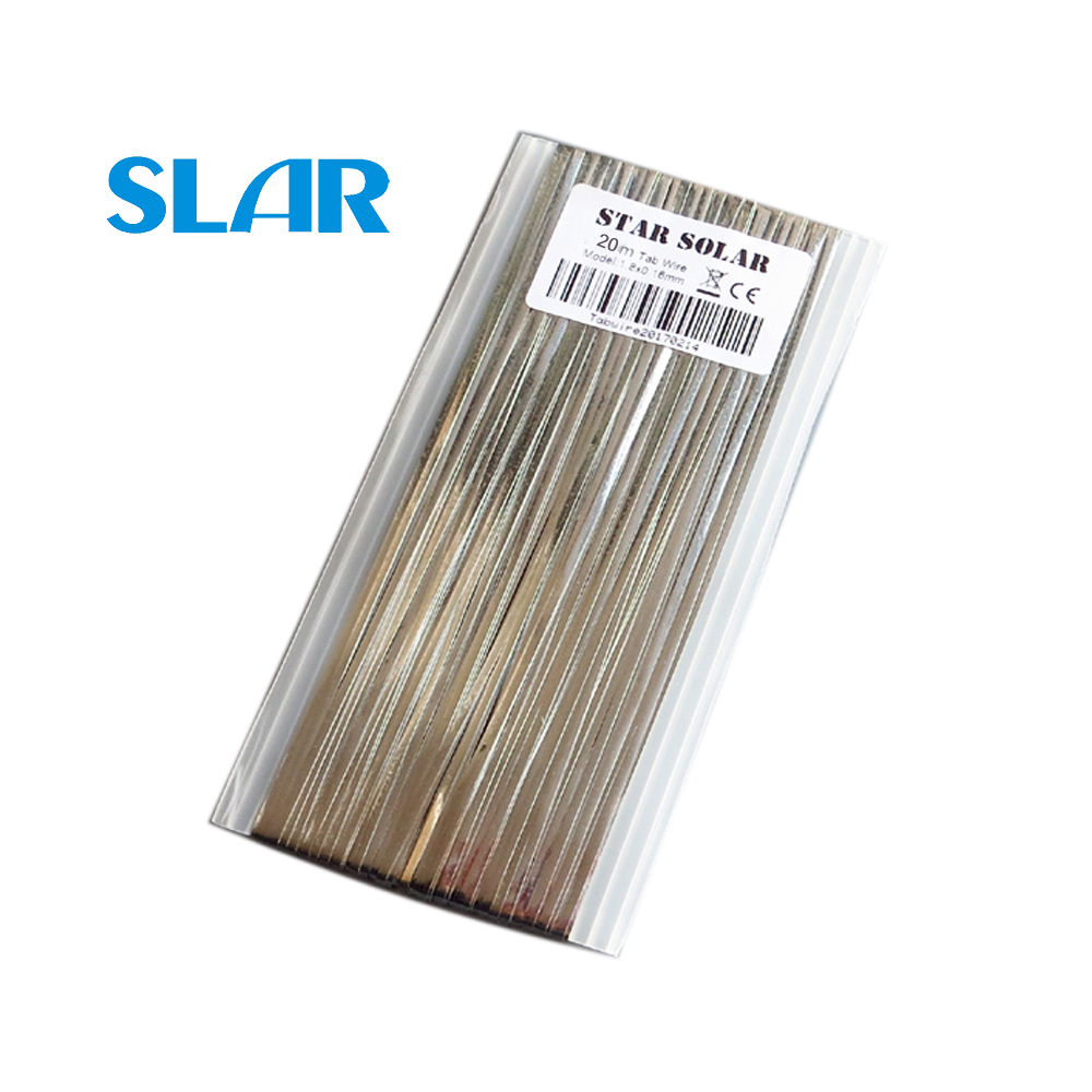 20M X Tab Wire 1.8x0.16mm 66ft Solar Cells Bus Bar Wire For PV Ribbon Tabbing Wire For DIY Connect Strip Solar Panel