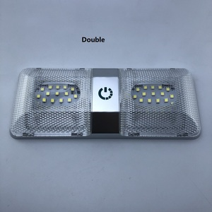 Image 3 - LED Roof Spotlight 12V Rectangular Ceiling Lamp Touch Function Dimmer Switch Interior Down Lighting for Marine/Yacht RV Caravan