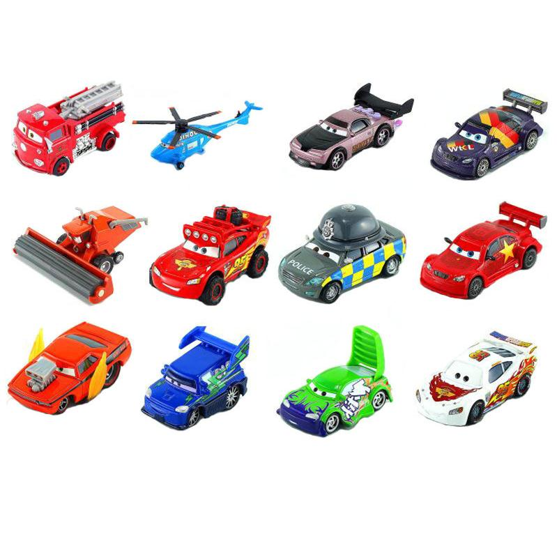 Disney Cars Alloy Model Rare Collection Red Frank Boy Toy Car Birthday Gift Christmas Mom And Dad Valuable Choice High Quality