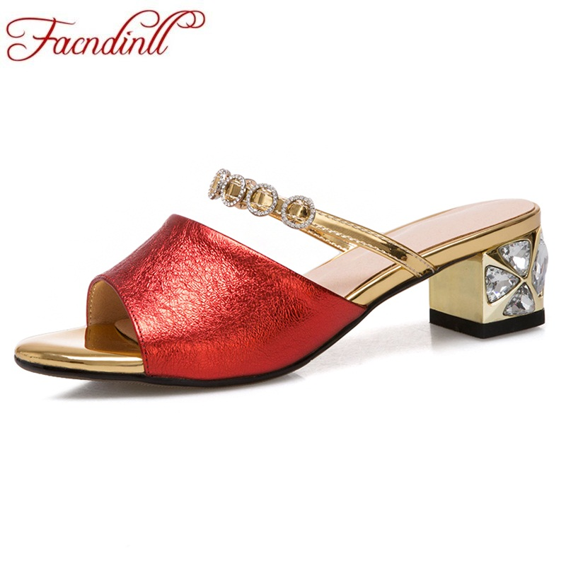 FACNDINLL new fashion patent leather summer shoes woman gladiator sandals crystal heel sexy open toe women wedding dress slipper vankaring new sandals shoes women cruare strange style low heel open toe summer woman black dress party casual sandals slipper