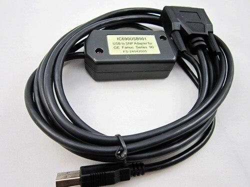 Ic690usb901: usb a adattatore snp per ge fanuc 90 plc della serie, trasporto veloceIc690usb901: usb a adattatore snp per ge fanuc 90 plc della serie, trasporto veloce