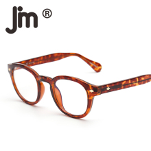 JM Retro Round Polarized Sunglasses and Anti Blue Light Blocking Glass