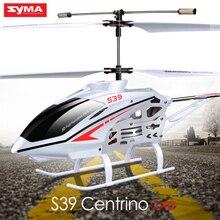 Syma s39 3ch rc вертолет 2.4 ГГц с гироскопом проблесковый маячок дистанционного управления toys детей rc самолета небьющиеся