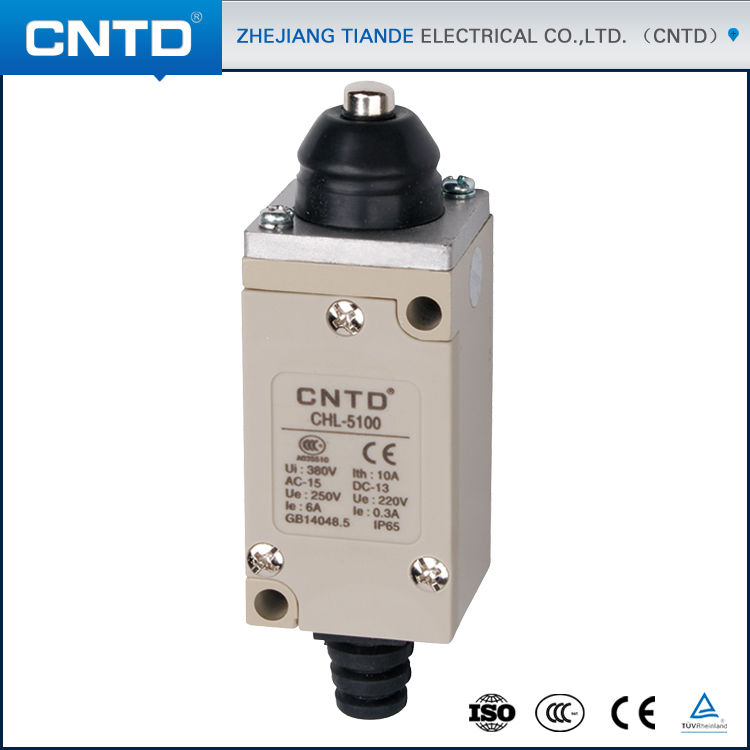 CNTD IP65 Rated Waterproof Magnetic Limit Switch for Gate Opener (CHL-5100) 4pin 5pins waterproof magnetic explosion proof pushbutton switch kld 28a 5e4 ip65 220v magnetic starter electromagnetic switches