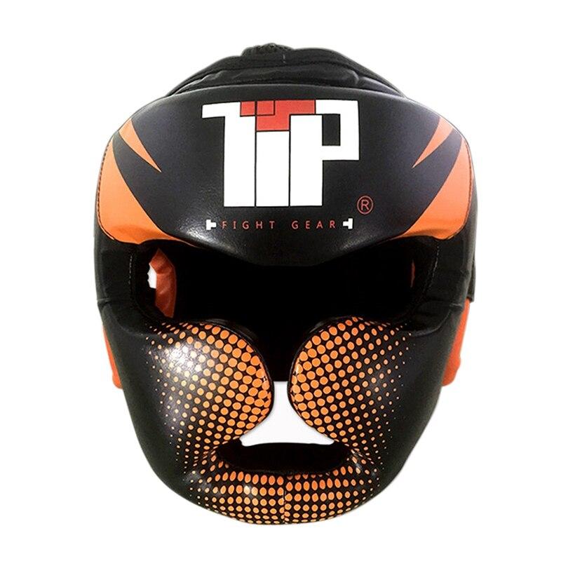 New Boxing Helmet Sanda Kick Boxing Head Protector Training Boxing Head Guard Helmet Taekwondo Kick Boxing Protection Gear
