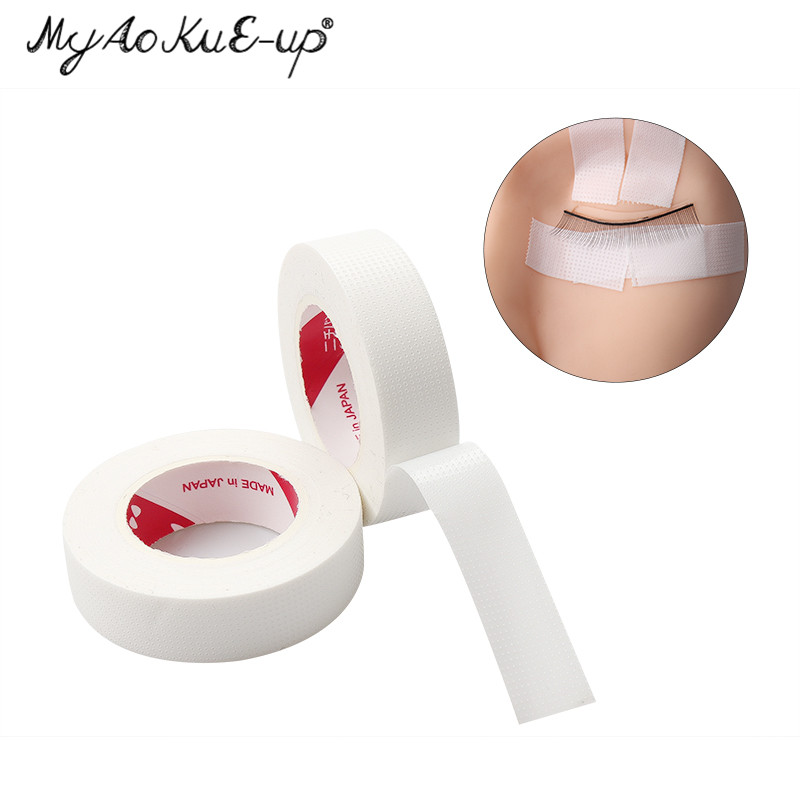 Lint-free Medical Tape Non-woven Wrap Tape 1pcs High Quality Under Eye Paper Pads Tape Eye Pads Eyelash Extension Tools