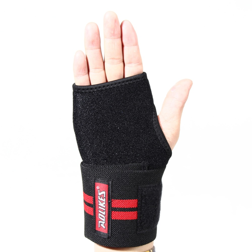 Driving gloves carpal tunnel - Adjustable Sport Hand Wrist Support Weight Lifting Carpal Tunnel Wristband Brace Sprain Strain Pain Fitness Hand
