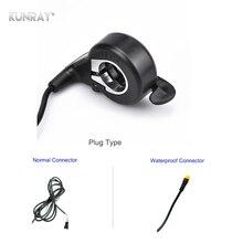 Высокое качество, дроссельная заслонка для электровелосипеда, дроссельная заслонка для большого пальца, Акселератор для электровелосипеда, Электрический скутер, комплект деталей для электровелосипеда FT-21X