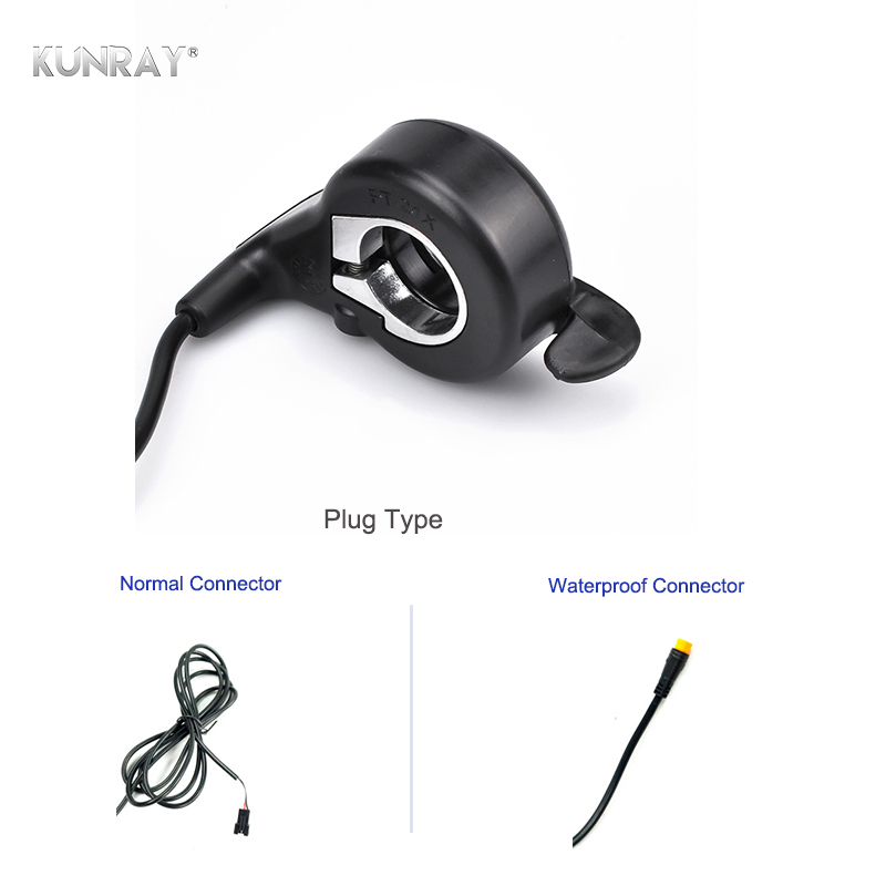 High Quality E-bike Thumb Throttle, Finger Thumb Throttle, Ebike Accelerator, Electric Scooter Electric Bicycle Part Kit FT-21X