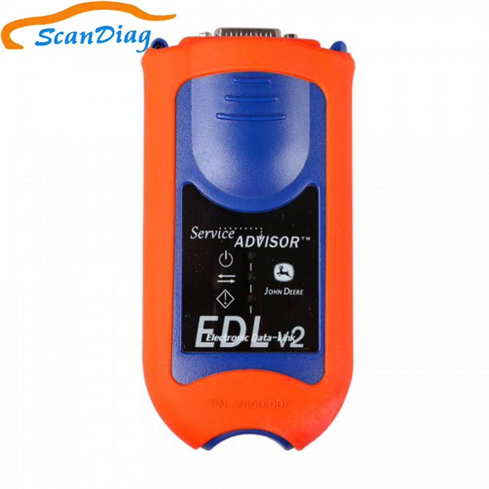 JD EDL V2 Service Advisor for john deer Agricultural construction diagnostic <font><b>tool</b></font> scanner EDL v2 <font><b>Electronic</b></font> Data Link kit image