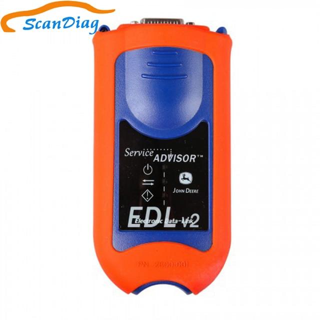 JD EDL V2 doradca serwisowy dla john deer narzędzie diagnostyczne do budowy maszyn rolniczych EDL v2 elektroniczny zestaw łączników danych
