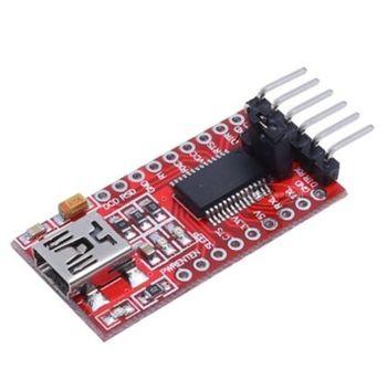 ¡FT232RL USB FTDI USB 3,3 V 5,5 V a TTL Módulo adaptador a serie forArduin puerto mini!