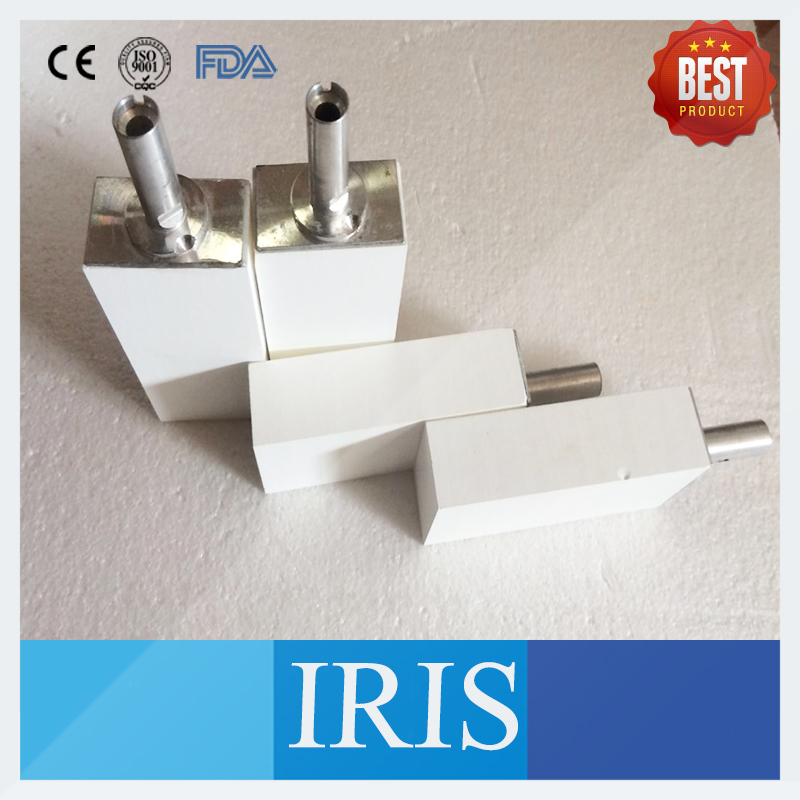 Top sale 2 Pieces 65*40*22mm/85*40*22mm Dental Zirconium Ceramic Blocks with Sirona System In Lay  System Zirconia Blocks