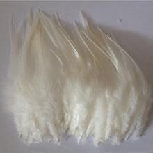 Хит! 50 шт. бежевое перо фазана, длина 10-15 см, украшение для ювелирных изделий DIY