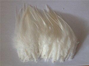 Тепло! Бесплатная доставка, 50 шт., бежевые фазанские перышки, длина 10-15 см, украшения для поделок