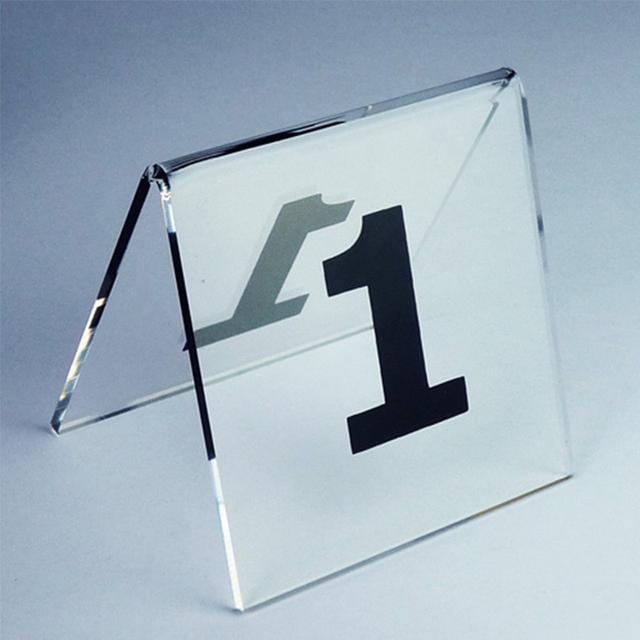 Hot Number 1 30 Tent Style Acrylic Table Numbers Digital