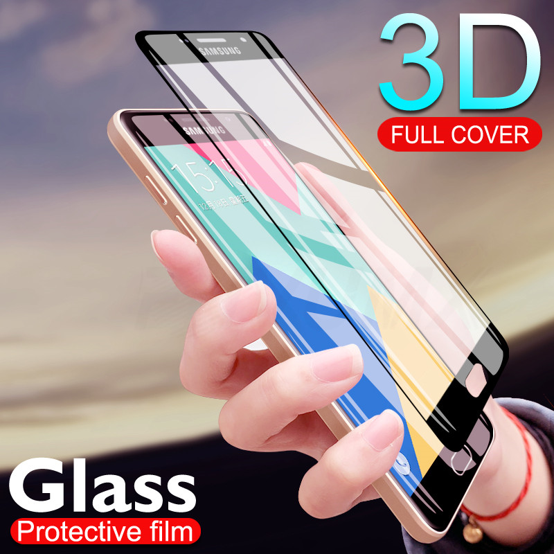 <font><b>9H</b></font> 3D Tempered <font><b>Glass</b></font> On For <font><b>Samsung</b></font> <font><b>Galaxy</b></font> <font><b>A3</b></font> A5 A7 <font><b>2016</b></font> 2017 A5 A8 A6 A8 Plus 2018 Full Screen Protector Film Protective <font><b>Glass</b></font> image