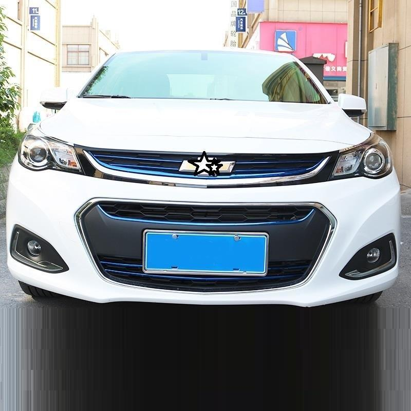 Grille automobile decorative car styling accessories sticker strip accessory protecter covers 16 17 FOR Chevrolet Malibu