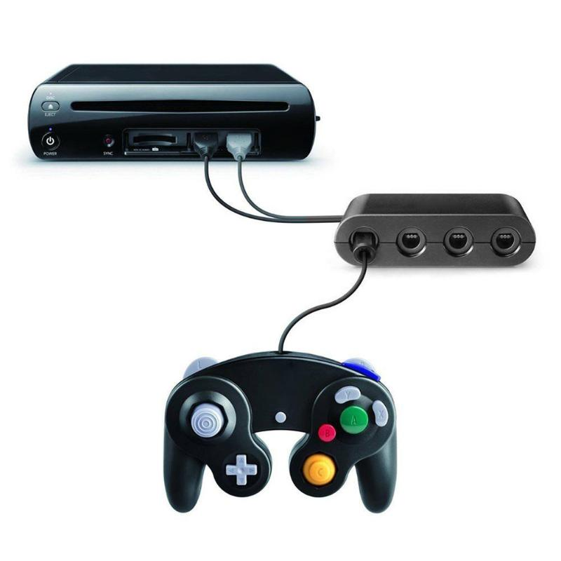ALLOYSEED 4 Ports for GC GameCube to for Wii U PC Nintend Switch Controller Adapter USB adapter Converter adaptor джойстик wii ngc ngc gamecube controller