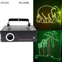 DJ Лазерная sd карта 500 МВт RGB полноцветная лазерная шоу Система диско сценическое Лазерное освещение