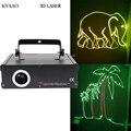 DJ Лазерная sd-карта 500 МВт RGB полноцветное лазерное шоу Система Диско сценическое Лазерное освещение
