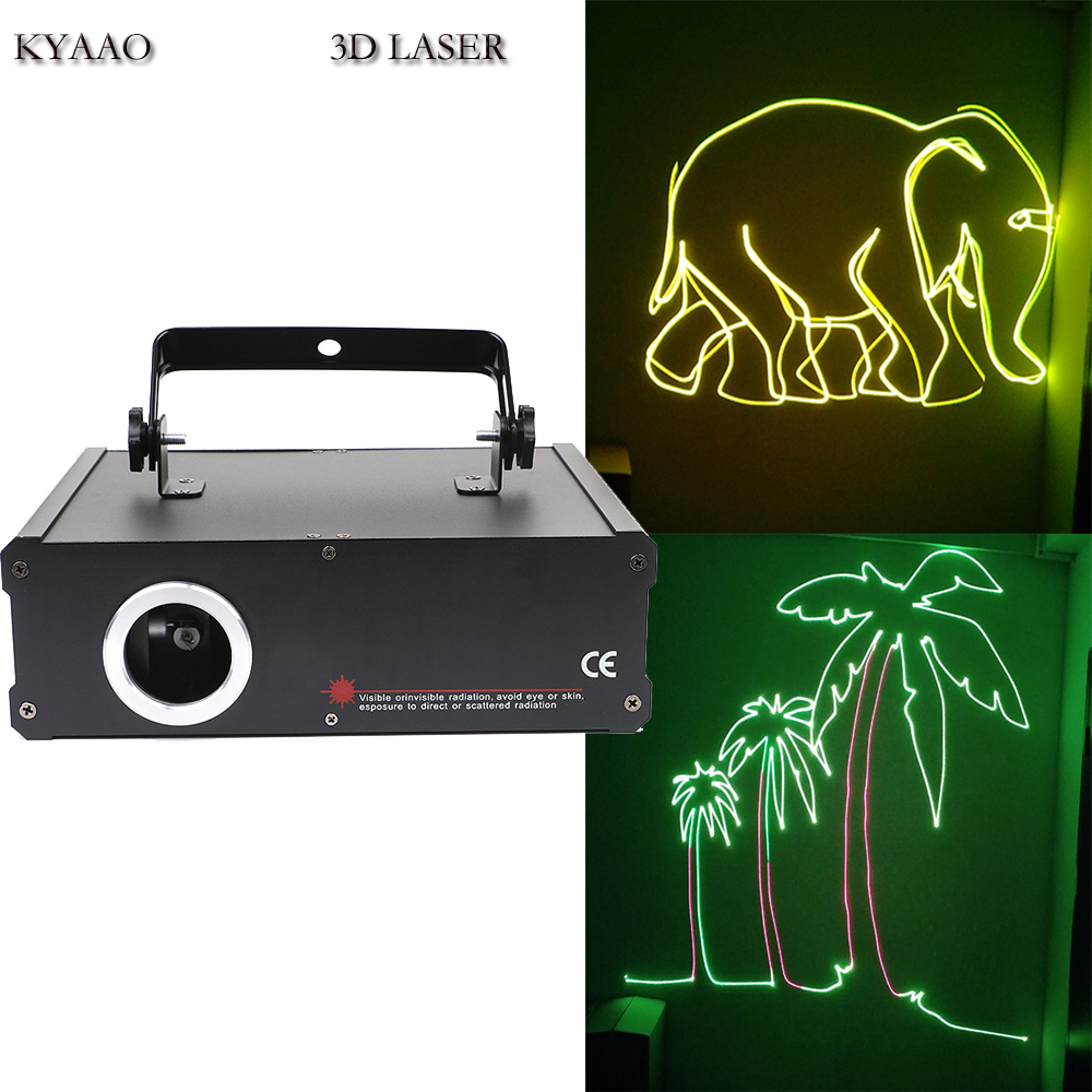 DJ laser SD card 500mW RGB full color laser show system disco Stage Laser lighting|Stage Lighting Effect| |  - title=