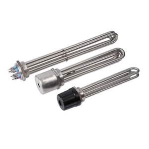"""Image 3 - Isuotuo DN50 Immersion Heating Element, 220V/380V 3U Electric Tubular Heater, Stainless Steel 2"""" Boiler Water Tube"""