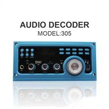 DC 12 V MP3 Decodificador Bordo Decodificador de Audio Con Amplificador de Potencia Panel de Soporte De Grabación de Radio FM/TF Y Opcional Bluetooth