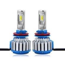 2019 new 1pair H7 LED H4 led H11 HB3 9005 HB4 9006 Car Headlight Bulbs(LED) 40W 4000LM Automobile Headlamp Fog Lights 8V 48V цена в Москве и Питере