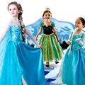 Vestido de princesa menina vestido de carnaval trajes para as meninas da criança vestido do ano novo para as meninas do bebê vestidos de festa infantil longo