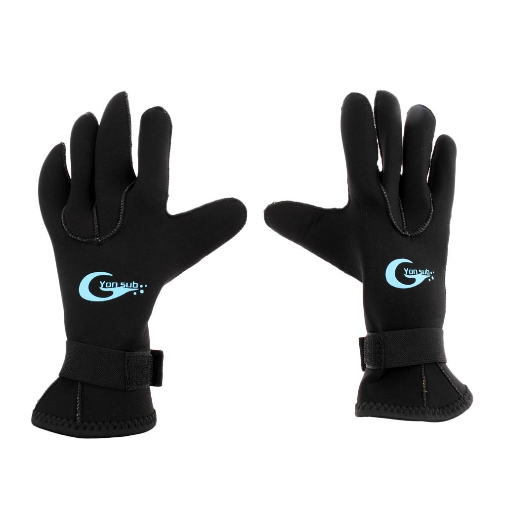 3mm S/M/L/XL Neoprene Wetsuit Gloves Kayak Diving Swimming Surfing Gloves for Scuba Dive Swim Wakeboarding Anti Slip Gloves