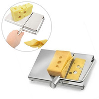 แฟชั่นการออกแบบตัดชีสเนยคณะกรรมการตัดลวดทำขนมใบมีดทนทานBakewareครัวทำอาหารให้บริการ