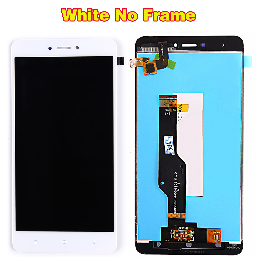 HTB11206PwHqK1RjSZJnq6zNLpXaa LCD display For Xiaomi Redmi Note 4X / Note 4 Global (CPU:Snapdragon 625) touch screen digitizer assembly Frame 10 Multi-Touch
