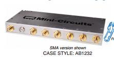 [BELLA] Mini-Circuits ZB6PD-1700-N+ 1500-1700MHZ Six N Power Divider
