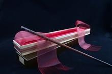 Newest Iron Core Cedric Diggory Magic Wand/Harry Magical Wand/Original Ribbon Gift Box Packing Free Train Ticket