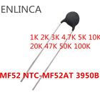 10Value 100pcs kit NTC Thermistor Resistor MF52 B NTC-MF52AT NTC MF52E 1K 2K 3K 4.7K 5K 10K 20K 47K 50K 100K 5% 3950B 3950 Ohm