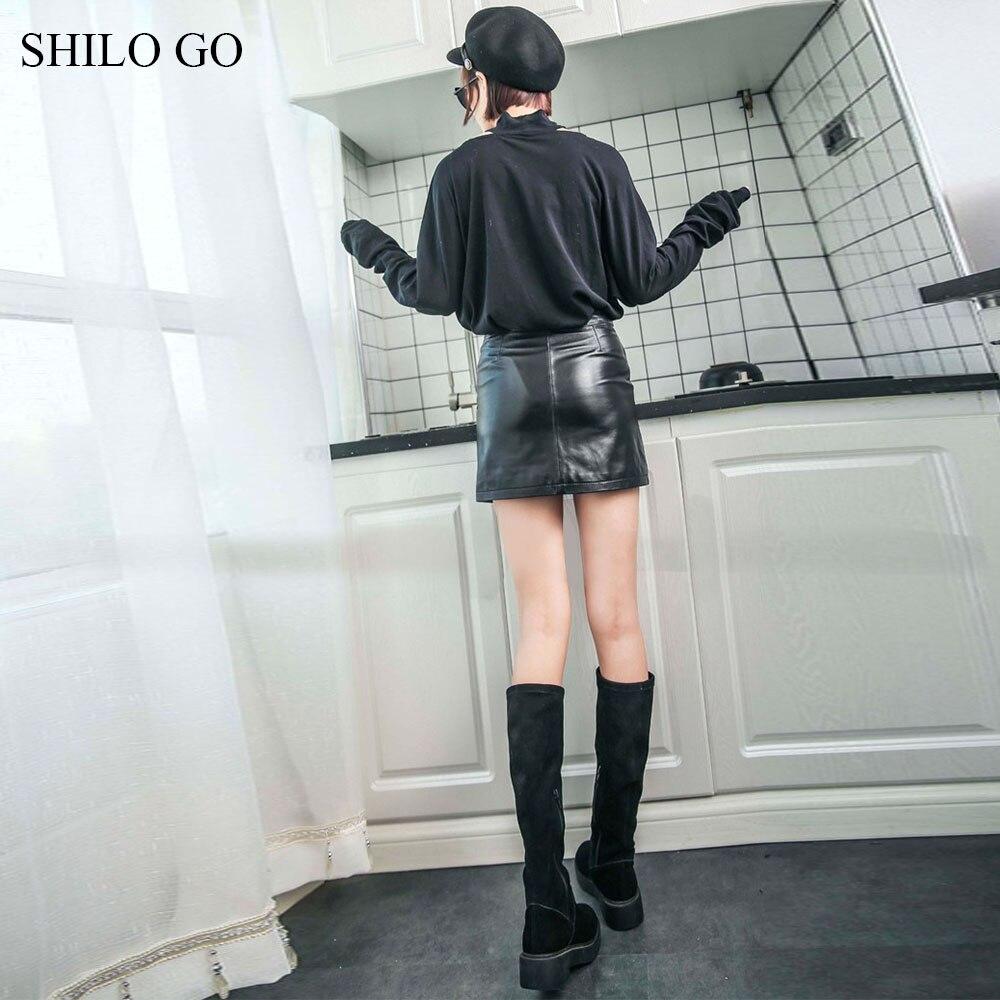 En Peau Mouton Jupes Locomotive Cuir Véritable Femmes Shilo Taille Zipper Rivet Avant De Printemps Sexy Mode Aller Haute 4g5q0WwxF