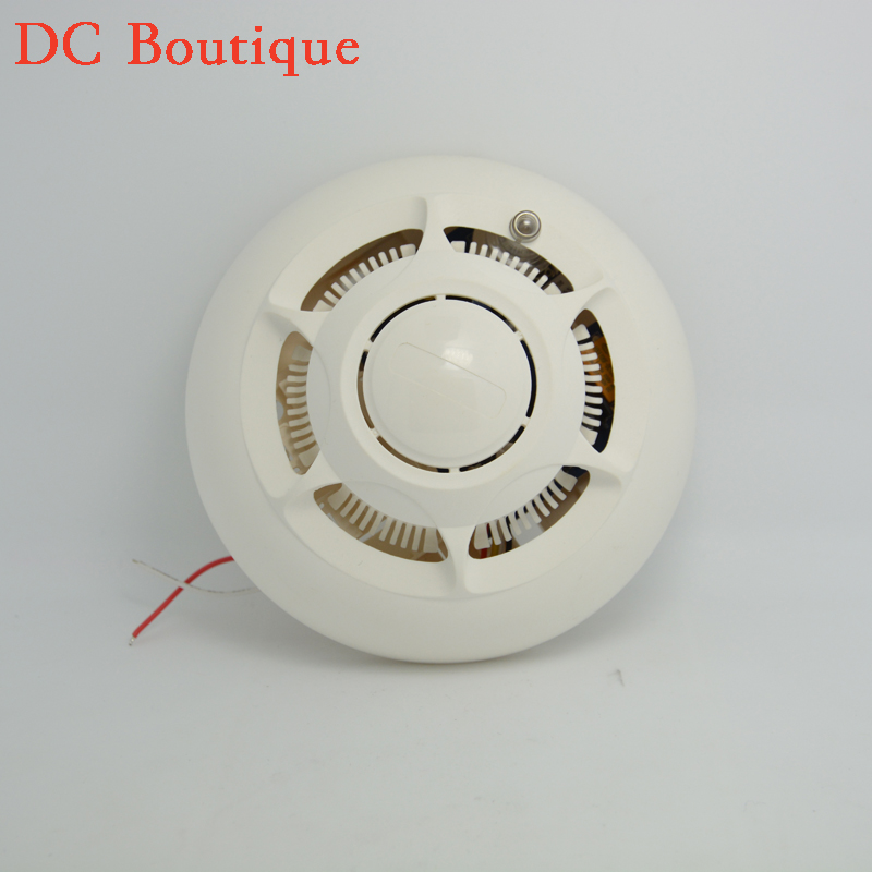 (1 pcs)Roiscok Wired Smoke Detector NC NO relay Output signal option Home security Fire control Alarm sensor UL217 standard kids tracksuit boys clothing 4 13t children s sports suits hooded children clothing suit for boys teenage girls clothing fashion