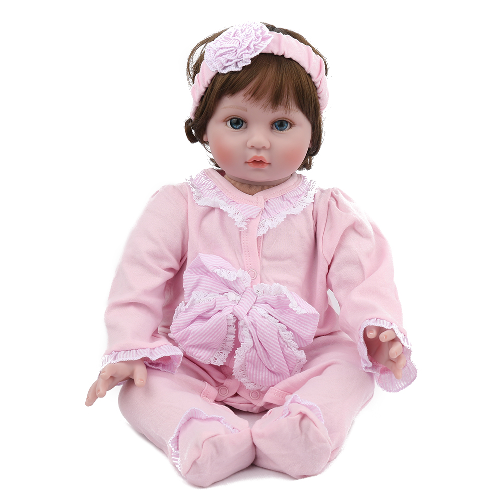 22Dolls Reborn Baby doll Silicone Vinyl newborn 55cm Xmas Gift  kids lovely princess girl toddler Toys collectible doll bonecas22Dolls Reborn Baby doll Silicone Vinyl newborn 55cm Xmas Gift  kids lovely princess girl toddler Toys collectible doll bonecas