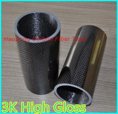 6pcs 30MM OD x 25MM ID Carbon Fiber Tube 3k 500MM Long with 100% full carbon,  Quadcopter Hexacopter Model DIY  30*25*500 30mm od x 25mm id carbon fiber tube 3k 500mm long with 100% full carbon quadcopter hexacopter model diy 30 25 500