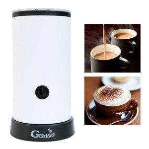 Image 3 - Mousseur à lait automatique avec récipient en acier inoxydable pour mousse souple Cappuccino Machine à café électrique mousseur à lait mousseur lait