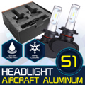 2x Super Bright H7/H13/9005 LED Car Headlight Bulbs CSP Hi-Lo Beam Cree Chips 8000lm 50W 6500K Front Headlamp Fog Light Kit