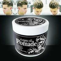Mokeru Fashion Waxing Strong Hold Long Lasting Styling Men Hair Wax Pomade Molding Hair Gel Hairstyle Wax Mens Perfume Wax